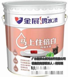 广东乳胶漆十大厂家直销超白乳胶漆品牌代理多彩墙面漆调色