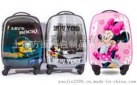 上海厂家定做儿童拉杆箱 定做卡通儿童托运箱行李箱