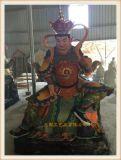青岛雕塑四大天王佛像厂家|木雕四大天王生产厂家
