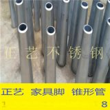 钛金不锈钢锥形管,不锈钢圆锥形管,镀金不锈钢家具脚