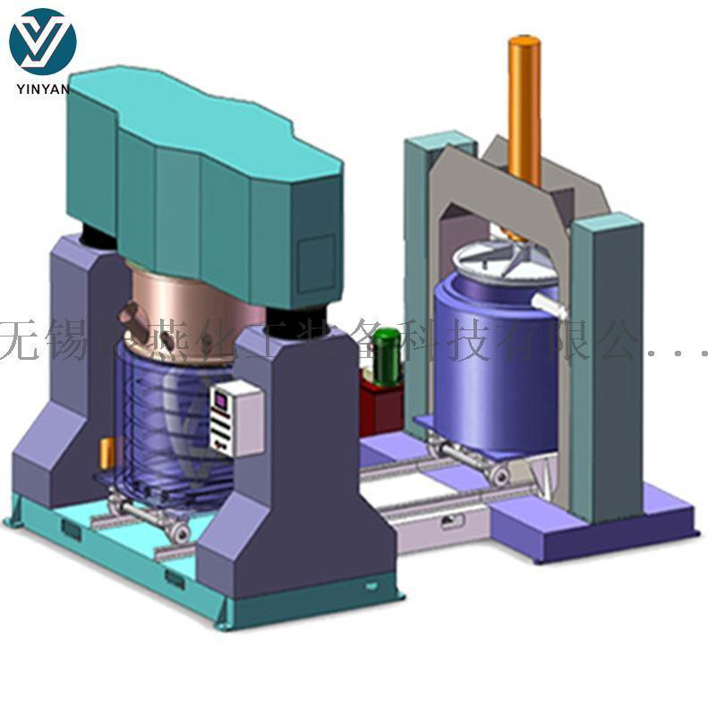 3000L胶水搅拌机 双行星搅拌机 高粘度搅拌机