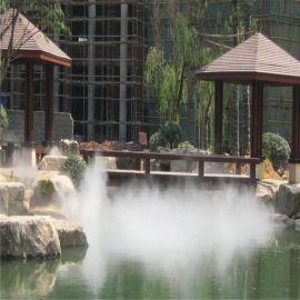 景观喷雾降温设备 园林喷雾降温设备