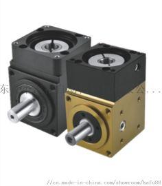 精密直角转角行星齿轮减速机400W伺服电机减速器