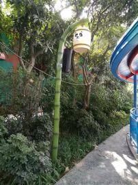 竹子庭院灯丶熊猫造型路灯,庭院灯生产厂家