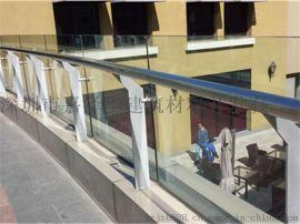 山西太原玻璃护栏厂家,锌钢玻璃护栏,玻璃护栏