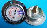 60MM轴向带边充油防震R410A空调冷媒压力表