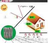 鋼結構桁架工程專用屋頂隔熱材料-環保阻燃鋁箔XPE泡棉隔熱材1.2*40M/卷