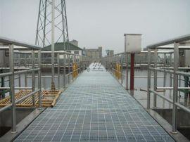 热镀锌格栅板 化工厂用钢格板 平台钢格栅板