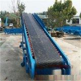 不锈钢PVC食品级传送带 移动式圆管加护栏皮带机