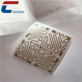 厂家定做rfid超高频芯片 智能防伪标签 电子标签