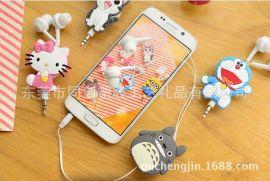 來圖定做PVC軟膠耳機貼片,軟膠廣告手機耳線貼