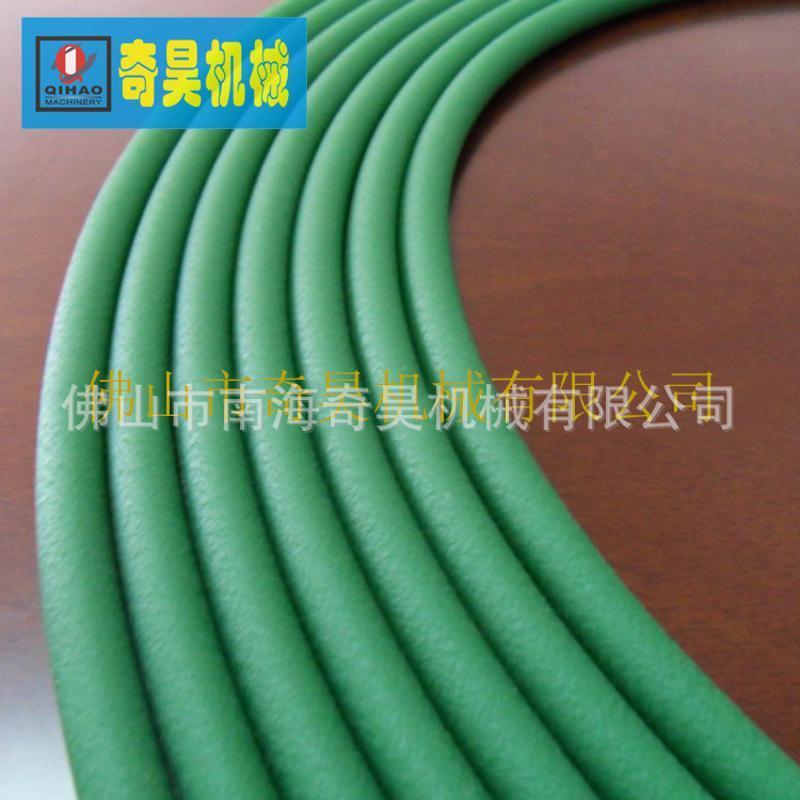 O形圆形粗面聚氨脂PTU输送带,机械设备生产线