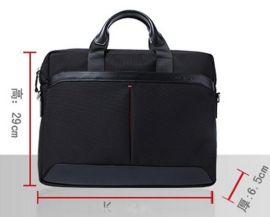 廠家批發供應潮男包貼牌加工訂做時尚布配皮2013新款公文包電腦包