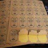 高檔外包裝不乾膠標貼/日用品不乾膠標籤/外貿不乾膠定做/不乾膠標籤
