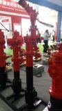 黑龍江栓炮一體式消防水炮 快開調壓防凍防撞消火栓