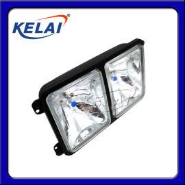 KELAI  6寸方射灯真空氙气汽车货车倒车灯侧灯后视照轮胎灯