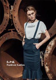 名品女装折扣店贝勒川品牌剪标哪里找 广州明浩折扣女装