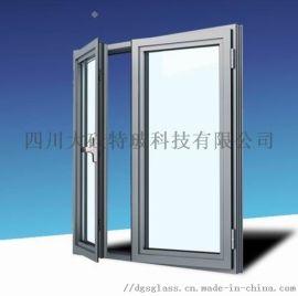 四川乙级防火窗厂家断桥铝型材高层建筑适用