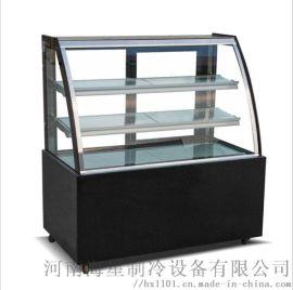 安阳濮阳蛋糕柜多少钱 慕斯面包甜点保鲜展示柜厂家