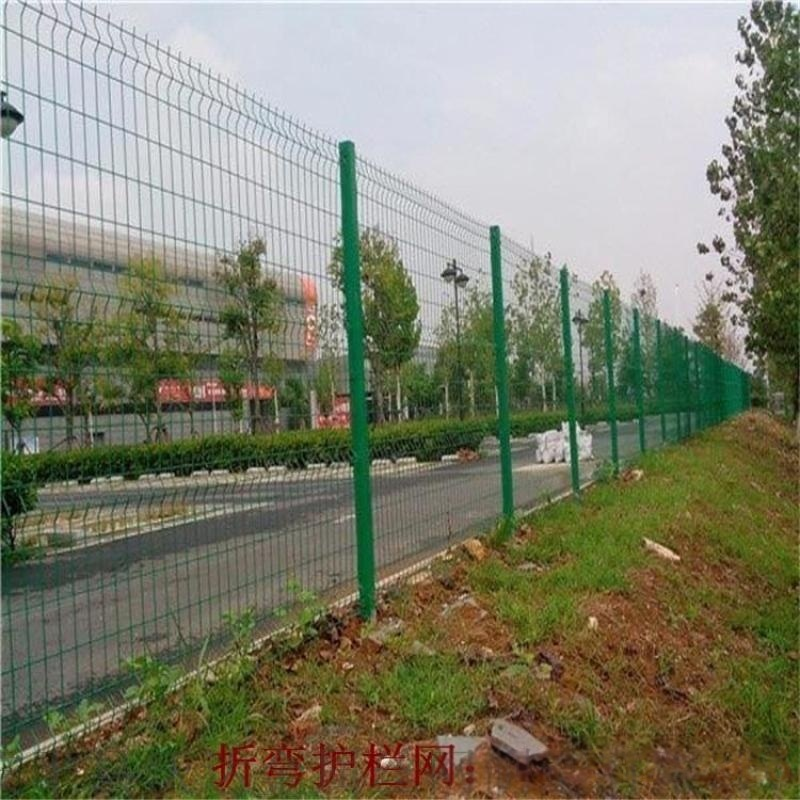小區桃形柱圍欄網_桃形柱隔離柵_圍牆防護網