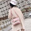 2018时尚透明女包韩版简约印花子母包女式手提包