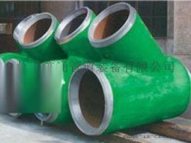 合金钢45°厚壁斜三通|鑫涌牌管线专用对焊三通
