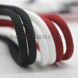 厂家直销 胶头定制涤纶绳 卫衣装饰绳 涤纶编织绳