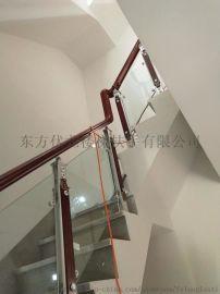 三亚玻璃扶手制作_海南全省楼梯扶手玻璃材质定制设计