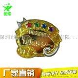 金屬烤漆琺琅胸針logo異形鏤空徽章勳章定製