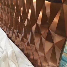 压花板 304不锈钢 简约彩色拉丝不锈钢板定做