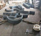 佰誉厂家双螺栓管夹促销 A9-1双排螺栓管夹