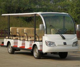 湖南厂家生产电瓶電動觀光車 力和18座遊覽觀光車
