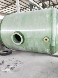 化粪池 两格化粪池规格尺寸 玻璃钢加强筋环保化粪池
