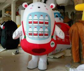 赣州科尼卡通衣服人偶道具产品宣传人偶服装定制