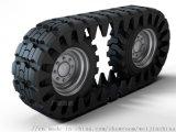 全地形车橡胶履带 外包轮胎履带 包裹式橡胶履带