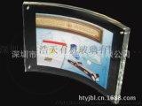 定制7寸8寸亞克力相框 透明弧形相框 有機玻璃相框相架