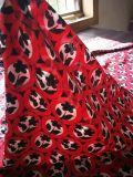 全真絲雙縐數碼印花服裝圍巾用面料