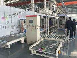 广州配电柜生产线,充电桩装配线,变压器滚筒线地滚线