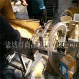 专供乌饭麻糍卷上浆机 豆沙馅糯米条上浆裹糠机器