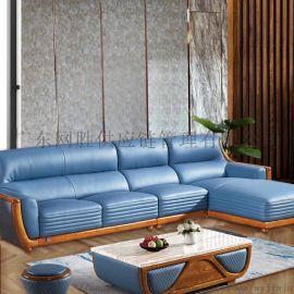 厂家直销家用客厅时尚沙发 办公新中式沙发大户型家具
