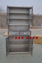 不锈钢文件柜 不锈钢资料柜 中2斗器械文件柜 不锈钢储物柜