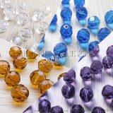 水晶切面珠32面地球珠 diy玻璃珠子 珠帘散珠