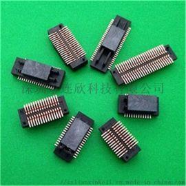 板对板连接器PCB贴片插槽/板对板接插件厂家现货