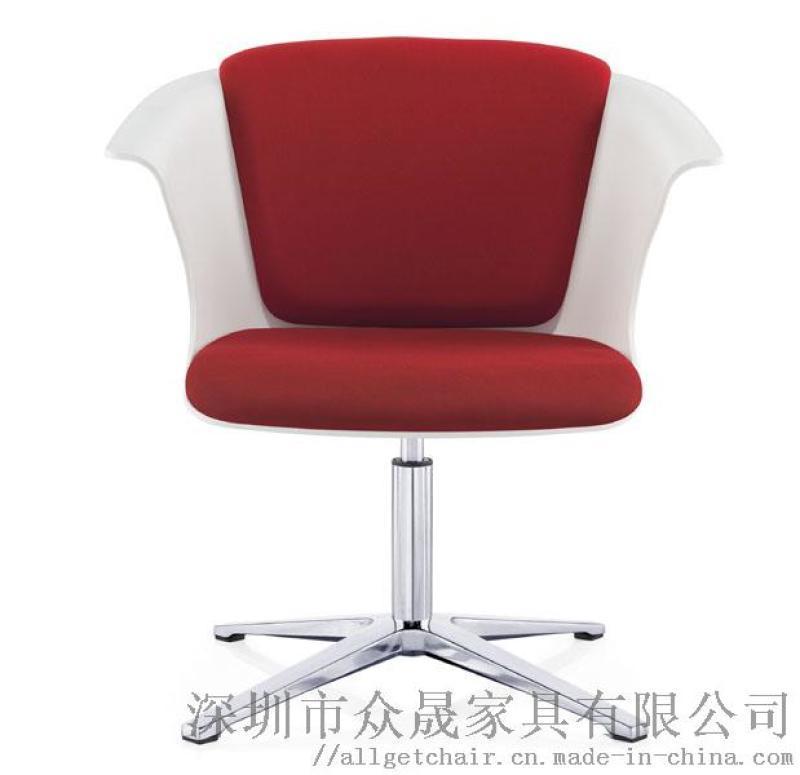 休闲躺椅 时尚会客沙发椅 布艺等候沙发椅