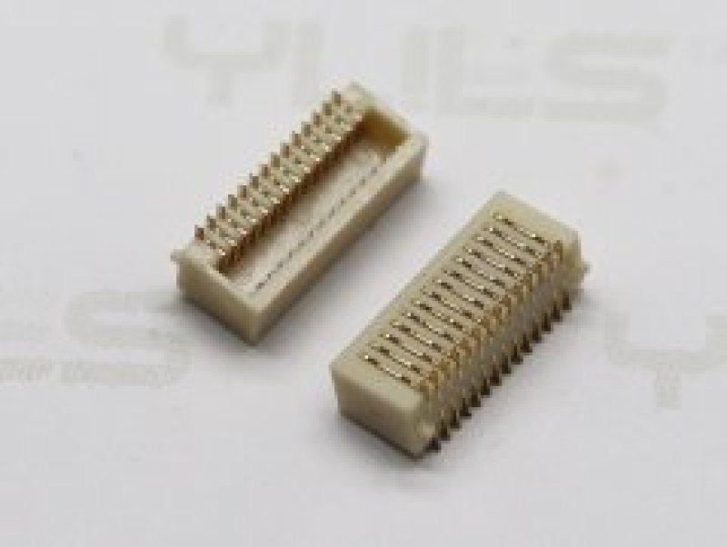 电路板连接器236-0.80mm 板对板 母座侧插