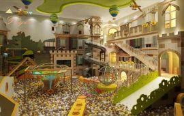 厂家直销百万球池室内儿童乐园游乐设备广州飞翔家