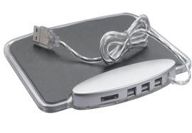 USB HUB通用SD读卡器鼠标垫(YX-509B)