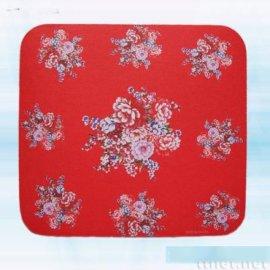 红客家花布滑鼠垫(AW-003)