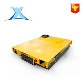 弹簧电缆卷筒矿用重型平板车 电动智能搬运平台车 拖电缆轨道平车