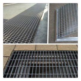 集水坑镀锌沟盖板厂家兴化污水处理工程镀锌防锈排水沟盖板网格板